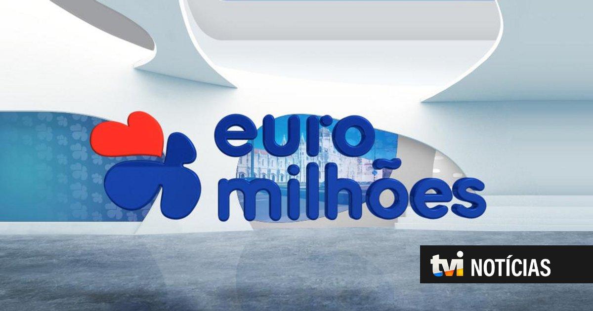 Euromilhões: conheça a chave vencedora desta terça-feira - TVI24