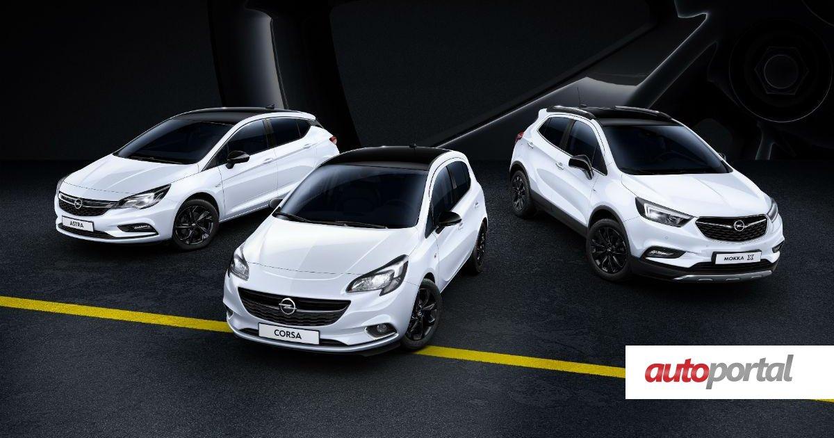 Opel Cria Black Edition Para Os Modelos Corsa Astra E Mokka X Autoportal