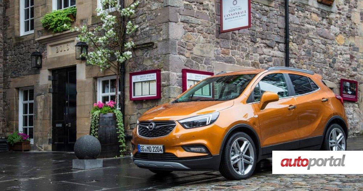 Opel Mokka X Esta De Regresso Autoportal
