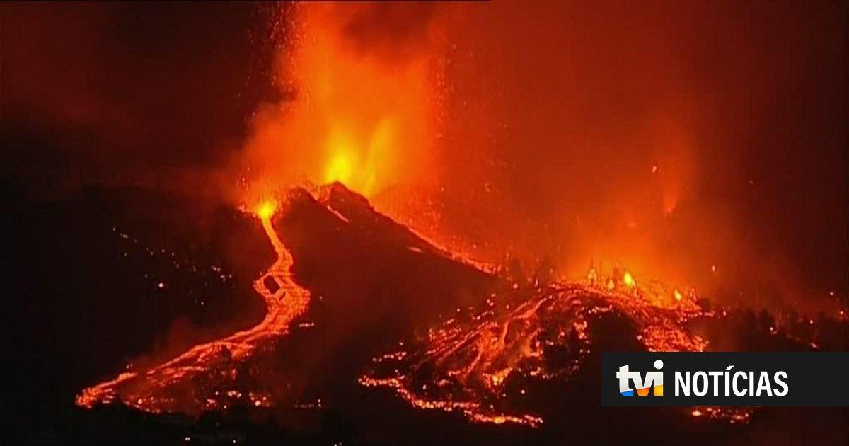 Explosões e emissão de gases: o que pode acontecer quando a lava do vulcão Cumbre chegar ao mar