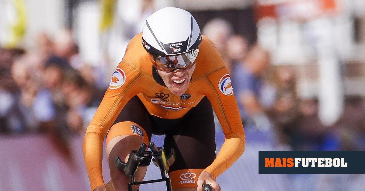 Ciclismo: Ellen van Dijk sagra-se campeã do mundo de contrarrelógio